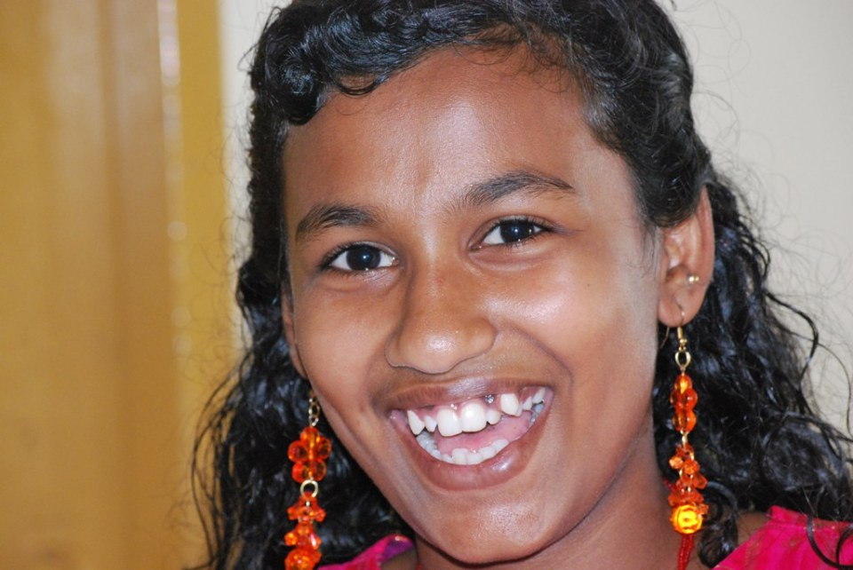 our sponsor child Remya